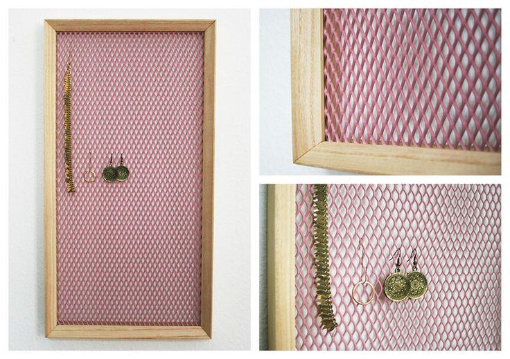 Schmuckständer & -halter - Schmuckaufbewahrung rose quartz - schönes Geschenk - ein Designerstück von Team-Twenty-Two bei DaWanda