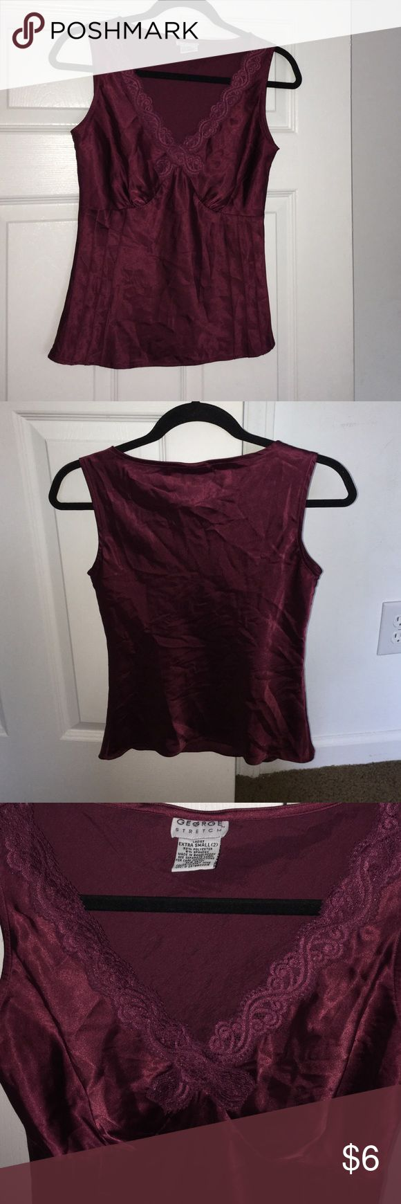 Women's Camisole Top Women's Camisole Top. In good condition from smoke free home with no holes or stains. George Tops Camisoles