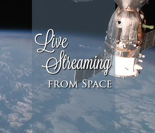 NASA is live streaming from space! You can see Earth From Space in a LIVE Feed with Incredible International Space Station live streams!