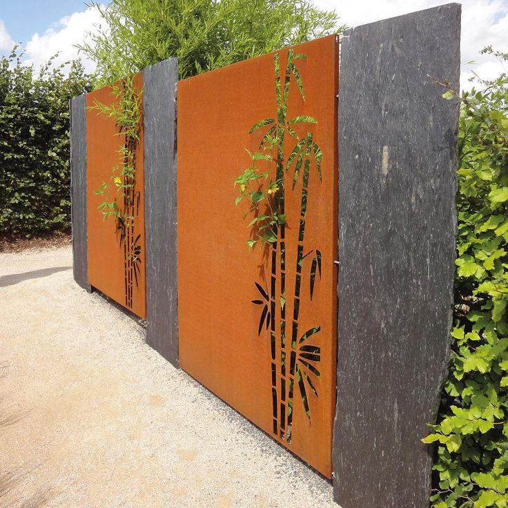 Lovely Cortenstahl im Garten Informationen im Blog auf gartensachen de metalldesign cortenstahl