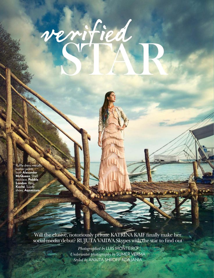 Verified Star - Katrina Kaif by Luis Monteiro for Vogue India June 2016