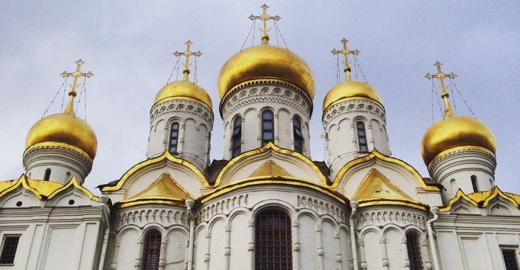 #Mosca, la città dai riflessi dorati - Risaleomar