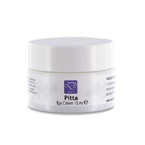Pitta Eye Cream 15 ML  Description: Een intensieve verzorgende crème voor de tere huid rond de ogen. De basis van Devi Eye Cream is amandelolie en jojobaolie. Deze oliën bevatten verzachtende en vochtregulerende eigenschappen waardoor ze rimpelvorming rond de ogen verminderen. De huid van het Pitta-type staat bekend om de gevoelige en snel geïrriteerde eigenschappen en Pitta Eye Cream is speciaal ontworpen om de tere huid rond de ogen te verzorgen zonder bestanddelen te gebruiken die een…