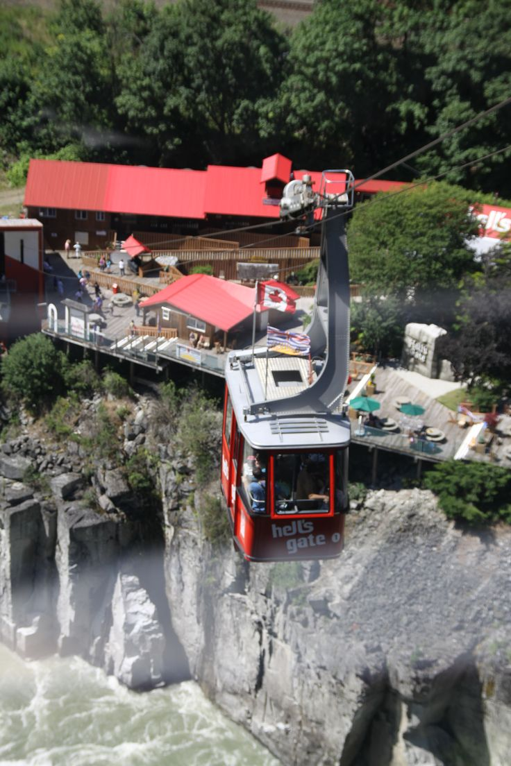 Hell's Gate Tram, BC - Canada