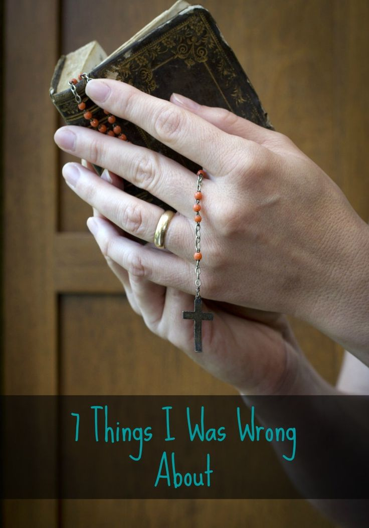 7 Misconceptions About Catholicism
