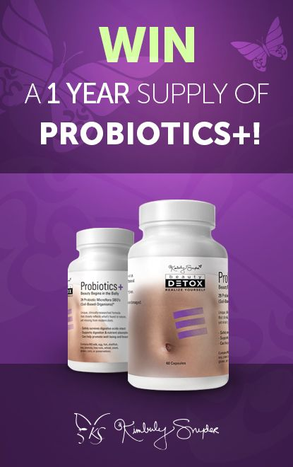 Introducing Probiotics+  A new type of probiotics created by Kimberly Snyder, Celebrity Nutritionist and New York Times Bestselling Author