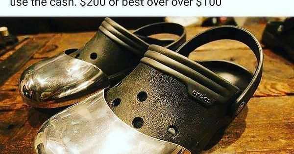Steel-toed Crocs (x-post from r