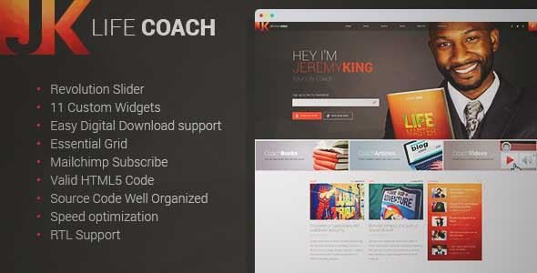 Download and review of Life Coach - Personal Page WordPress theme, one of the best Themeforest Magazine & Blogs themes {Download & review at|Review and download at} {|-> }http://best-wordpress-theme.net/life-coach-personal-page-download-review/