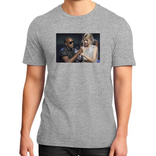 Kanye Taylor District T-Shirt (on man)
