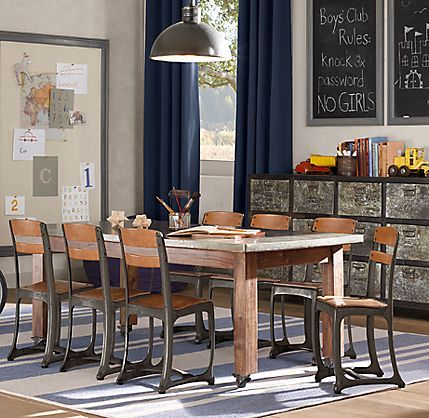 Vintage Schoolhouse Table And Chairs Pinterest House School