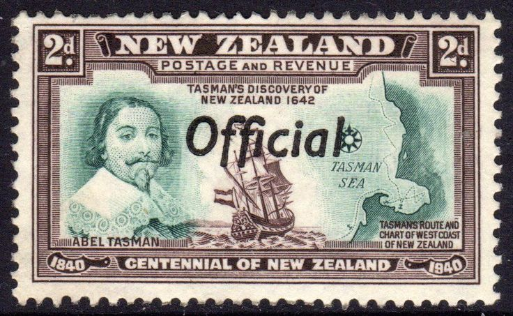 NEW ZEALAND 1940 OFFICIAL. STAMP ANNIVERSARY USED  FORMAT