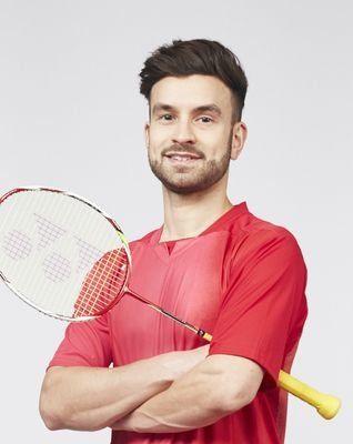Chris Langridge - Badinton. Men's Doubles.