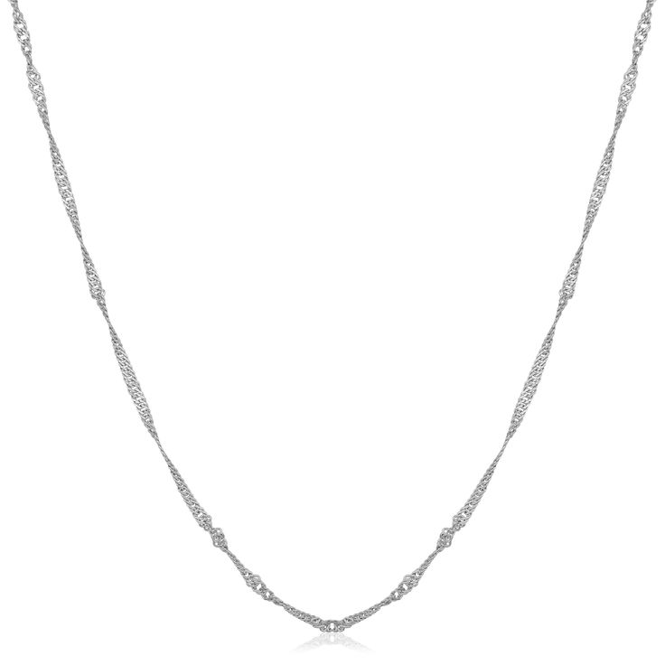 Fremada 14k Gold Rope Chain Necklace