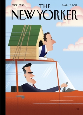 the new yorker magazine cover: The New Yorker, Magazine Covers, Politics, Marching 12, Dogs, Mitts Romney, Bobs Strike, Magazines Covers, New Yorker Covers