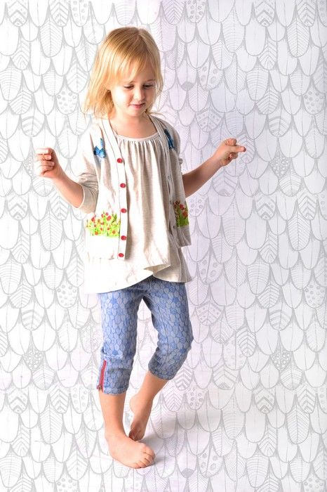 Paper Wings Summer 14Product Paper Wings Girls Spring Deer Light Weight CardiganProduct code S14N810