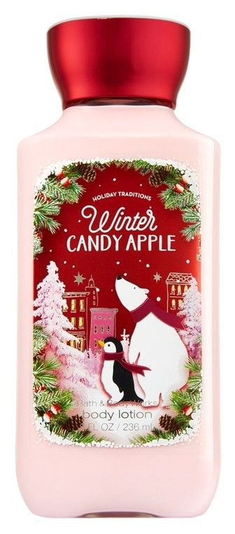 Bath and body works winter candy apple lotion 8 oz $13 free shipping #bathandbodyworks #sales