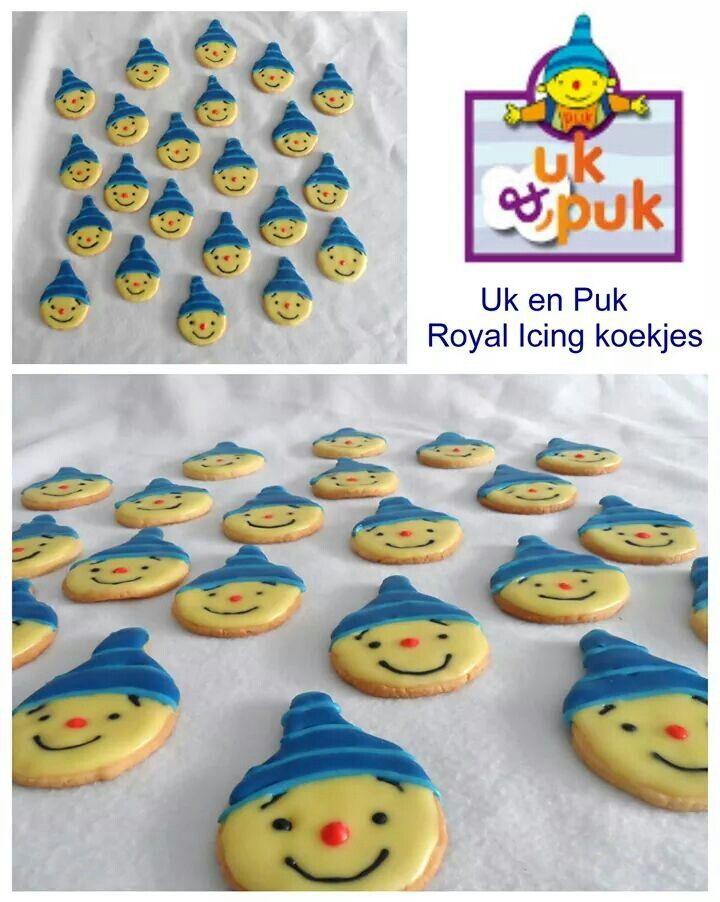 Uk en Puk royal icing koekjes