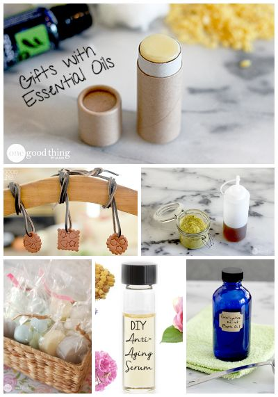 Gifts with essential oils are useful, unique and everyone will love them!