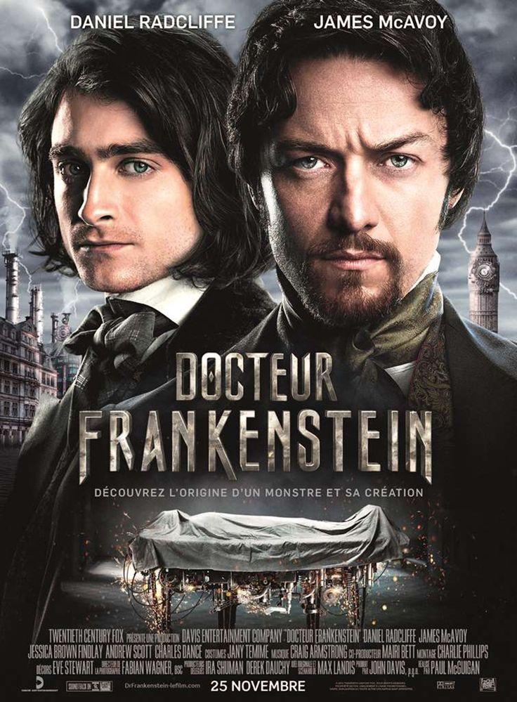 Docteur Frankenstein est un film de Paul McGuigan avec James McAvoy, Daniel Radcliffe. Synopsis : Le scientifique aux méthodes radicales Victor Frankenstein et son tout aussi brillant protégé Igor Strausman partagent une vision noble : celle d'aide