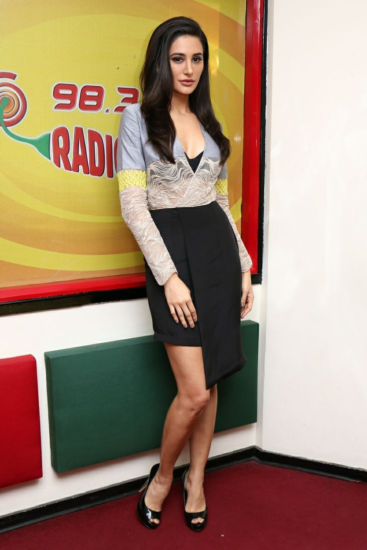 Nargis Fakhri looked like a sexy secretary in this outfit! #Style #Bollywood #Fashion #Beauty