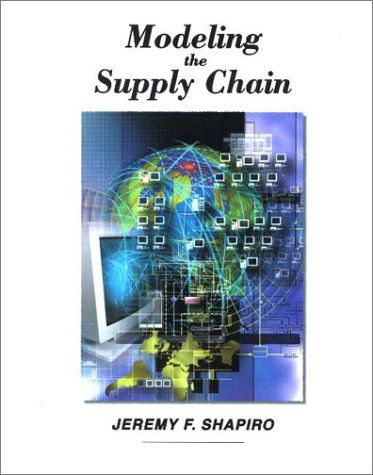 Modeling the Supply Chain:   With an emphasis on modeling techniques, Jeremy Shapiro's MODELING THE SUPPLY CHAIN is the perfect tool for courses in supply-chain management or for professional managers who seek better analytical tools for managing their supply chains, information technologists who are responsible for developing and/or maintaining such tools, and consultants who conduct supply-chain studies using models.    Shapiro examines in detail the roles of data, models, and modeli...