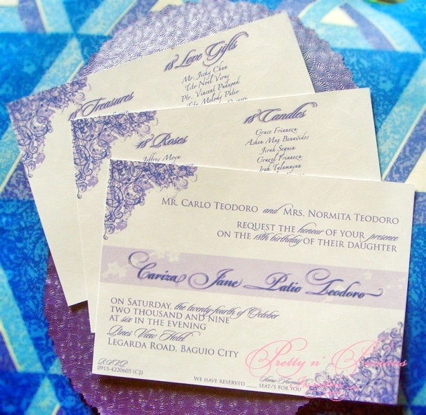 Debut Invitation Pictures to Pin on Pinterest - PinsDaddy