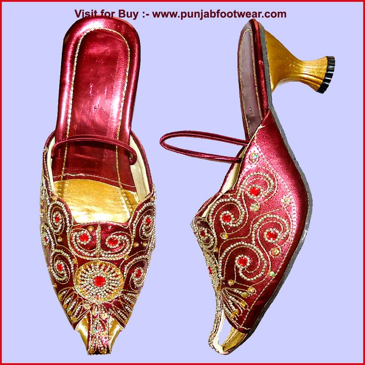 These are Indian Beaded Khussa designer shoes for the Women's. We make these shoes  in sizes 6 to 11 USA,3 to 9 UK & 36 to 44 EUR  all sizes. According to buyer demand and  ship  through DHL courier  service.The Cost of the display shoe is 47$ each pair. Kindly visit our  website to see more design at www.punjabfootwear.com