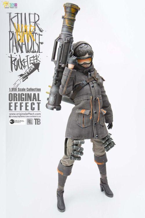 OE(OriginalEffect): 杀手乐园(Killer Paradise)火箭兵rocketeer - 动漫周边新品速递专区 - 78动漫论坛 模型论坛 www.78dm.net