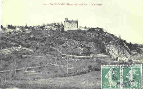 Sainte Suzanne - Le Château (1909)