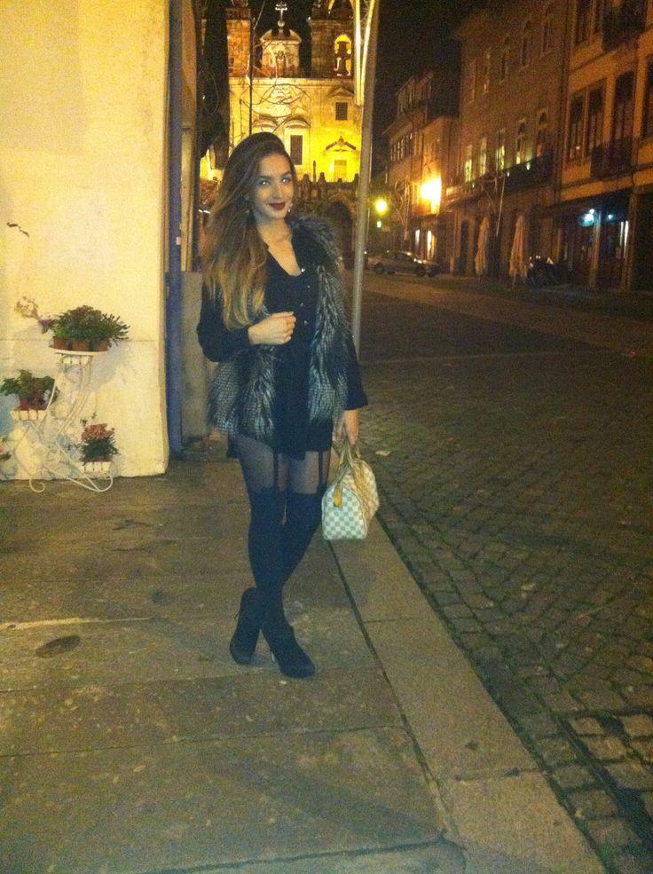 Stockings Khloe Kardashian inspired Yandra Vitorio