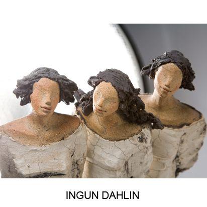 Keramikk skulpturer Hjertholm