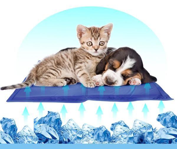 Cat Cooling Mat Non Toxic Gel Pad Cats Pet Mat Pixie