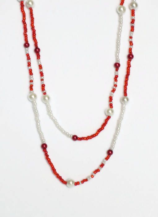 Canada Day Necklace/ Red and White Necklace/ Beaded Double Wouldn't you love to accessorize with this beaded necklace? With this red and white necklace you can attend any Canada Day celebration in style! Get yours here: https://www.etsy.com/ca/listing/515893062/canada-day-necklace-red-and-white?ref=shop_home_active_1