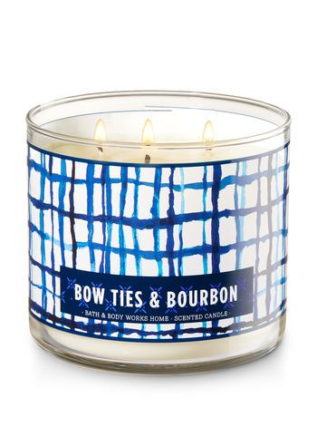 Bow Ties Amp Bourbon 3 Wick Candle Bath And Body Works