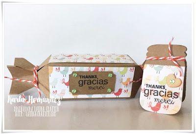 "I ♥ SCRAP: Blog Hop ""Gracias"" con Latina Crafter"
