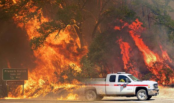 Image Result For Carr Fire Map Natural Disasters Fire Wild Fire