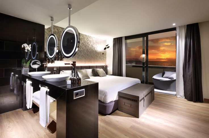 Your luxury Rock Royalty Suite at Hard Rock Hotel Tenerife, Canary Islands, Spain, where the music sets the tone