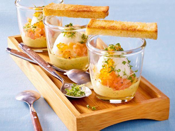 Unser beliebtes Rezept für Eier im Glas nach skandinavischer Art und mehr als 55.000 weitere kostenlose Rezepte auf LECKER.de.