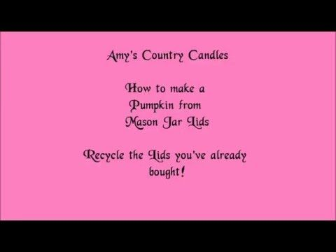 37 best amys videos images on pinterest candle masons and canisters heres a fun and crafty diy see what we made from our mason jar lids originally published september 27 2013 shop now httpbit1ufabo3 store solutioingenieria Images
