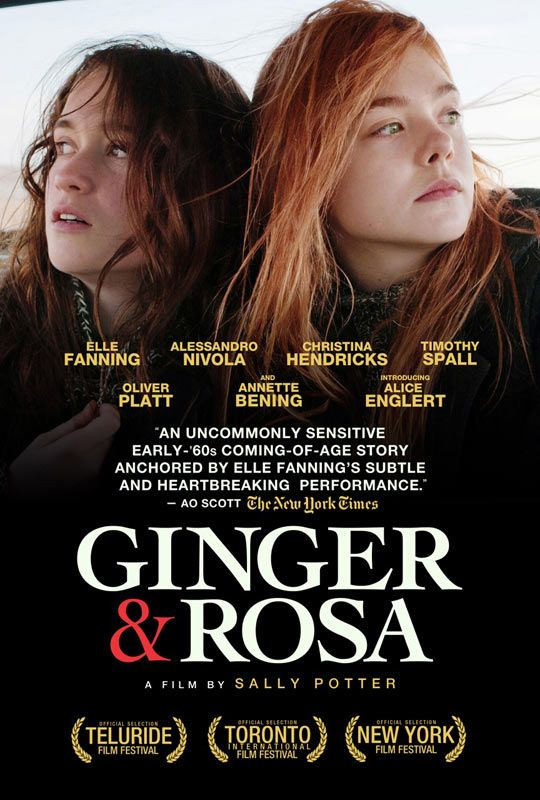 "Sally Potter's ""Ginger and Rosa.""  Review from Chickflix.net"