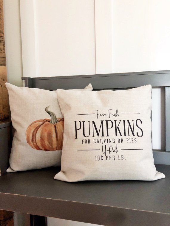 Fall Pillow Cover Fall Decor Farm Fresh