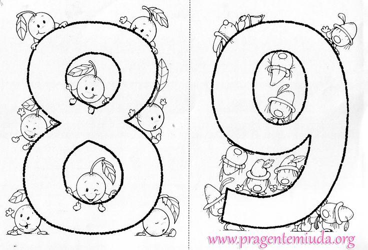 """Oi!         Nos primeiros anos da escola, a criança começa a entrar em contato com os números de maneira mais formal. Passam do famoso """"qu..."""
