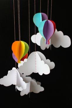 Paso a paso: Móvil de papel para el cuarto del bebé | Blog de BabyCenter