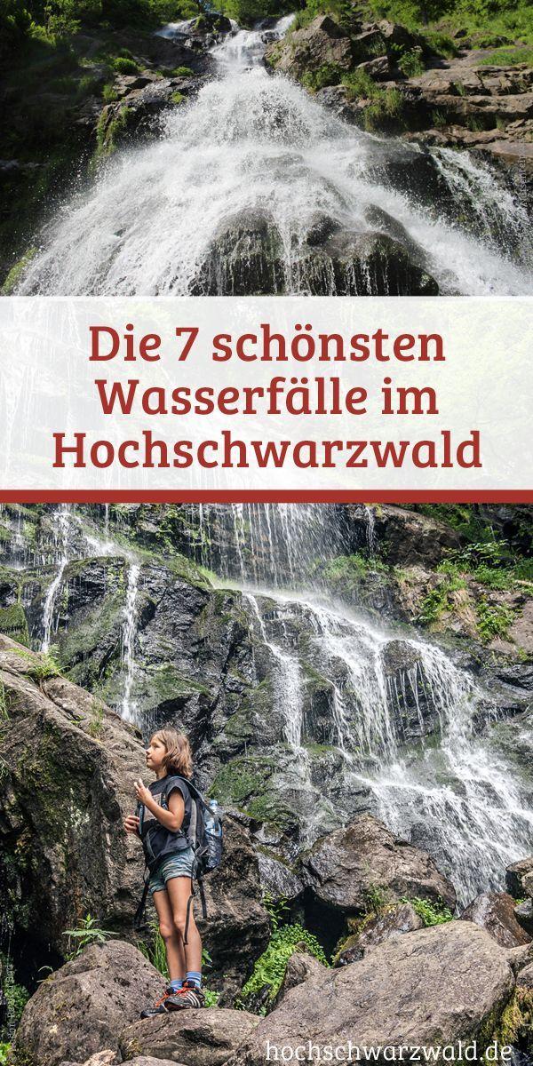 Sieben Tipps für den nächsten Urlaub im Schwarzwald. An diesen Orten gibt es die schönsten Wasserfälle.