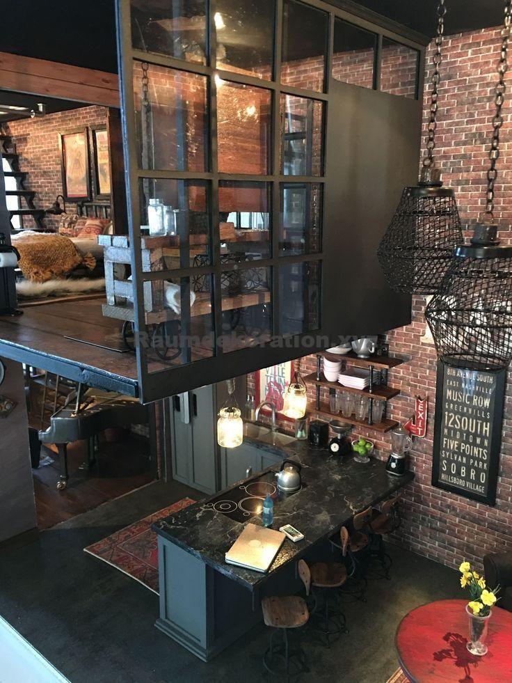 Idées d'architecture – Idées de design industriel vintage pour votre loft – #Idées de design # pour #Votre #Industr