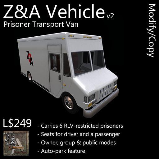 Z&A Vehicle (Transport Van)