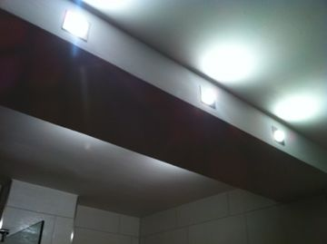 Badezimmerlampe bauen / Stahlträger verkleiden Bauanleitung zum...