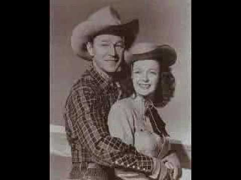 Dale Evans & Roy Rogers ... Singing ... Happy Trails to You