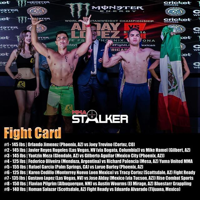 Tonight S Fight Card For Combateamericas X Ironboypromotions Zoomin Fightcardsubjecttochange Combateamericas Ironboymma Mm Mma Mma Fighters Fight