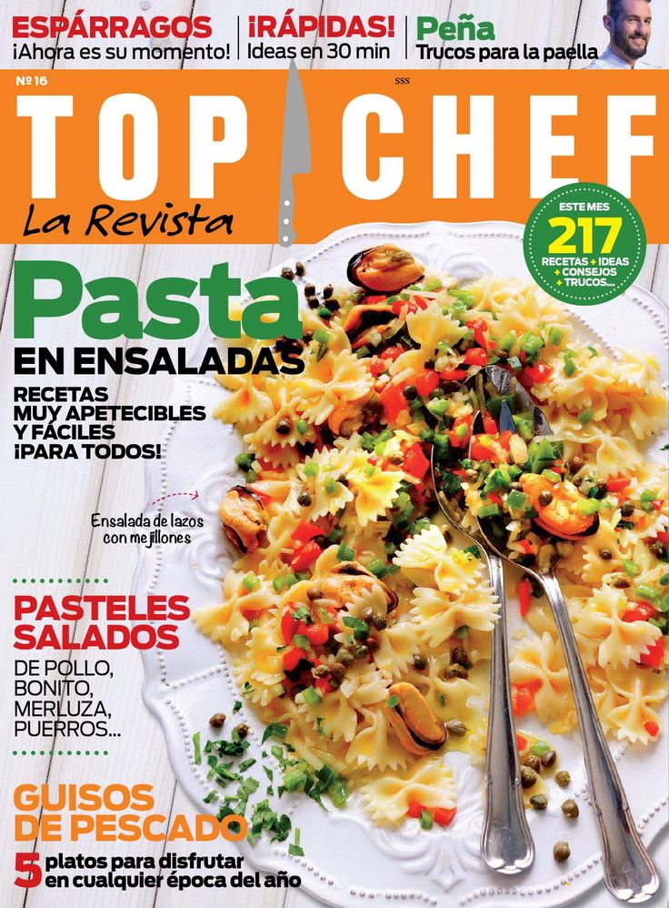 120 best magazines images on pinterest magazine journals and top chef mayo 2015 thermomixmagazinestopchefsrecipe fandeluxe Images